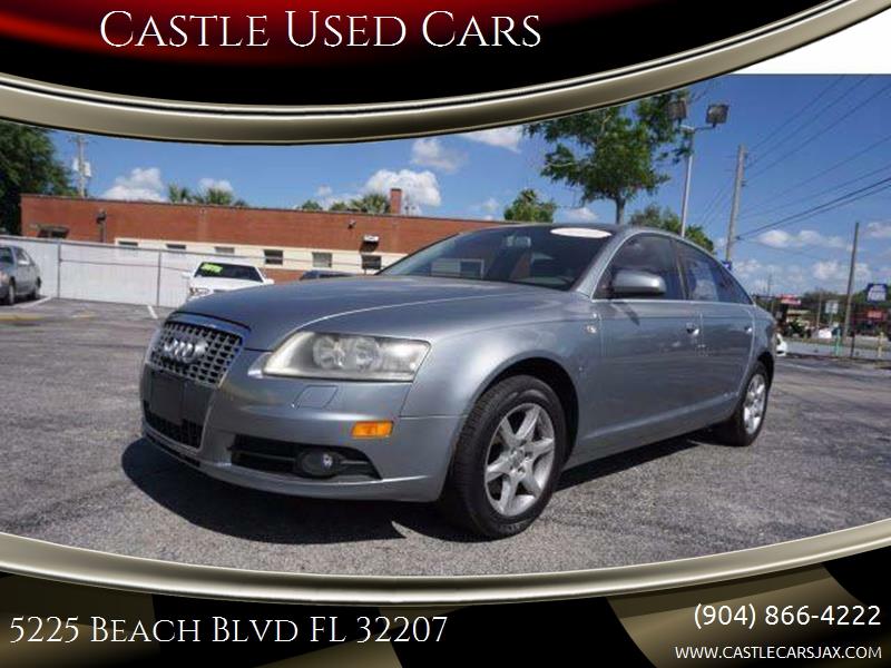 Audi A In Jacksonville FL Castle Used Cars - Audi a6 cars com