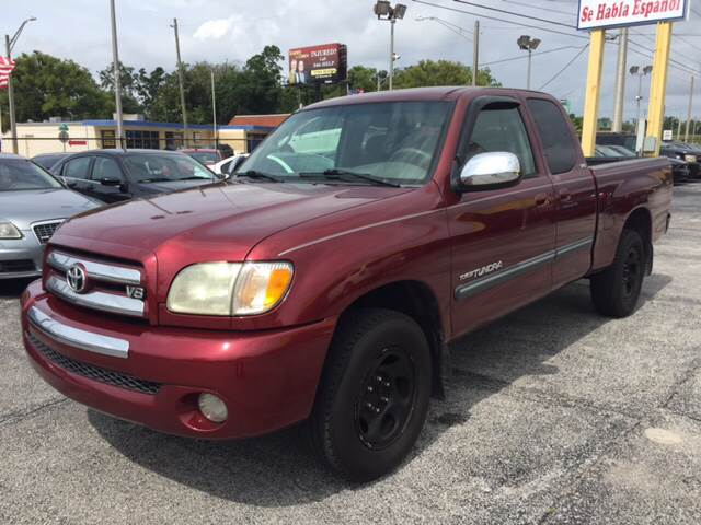 2003 Toyota Tundra For Sale At Castle Used Cars In Jacksonville FL