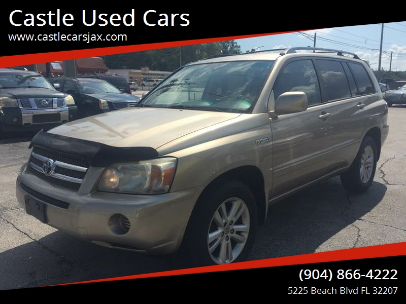 2007 Toyota Highlander Hybrid For Sale At Castle Used Cars In Jacksonville  FL