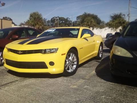 2015 Chevrolet Camaro for sale at Castle Used Cars in Jacksonville FL