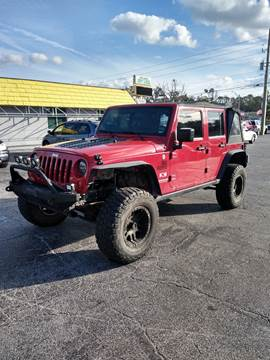 2007 Jeep Wrangler Unlimited for sale at Castle Used Cars in Jacksonville FL