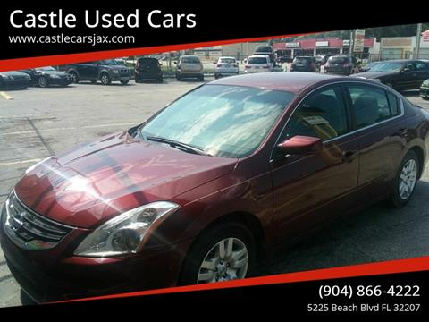 2012 Nissan Altima for sale at Castle Used Cars in Jacksonville FL