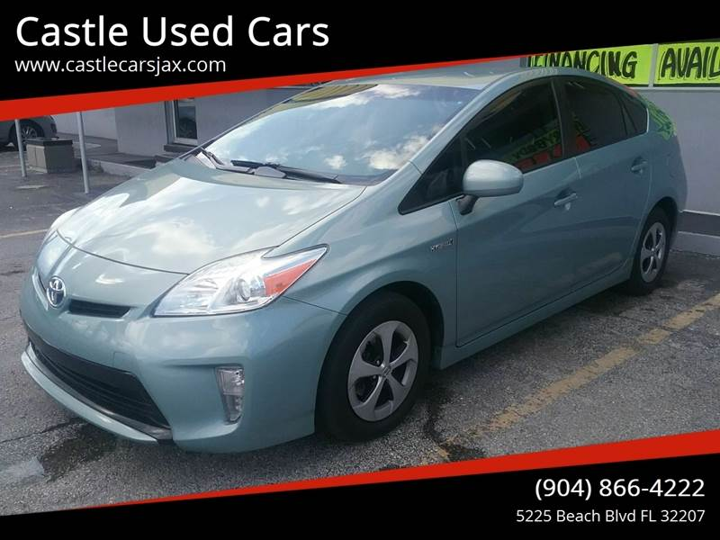 2015 Toyota Prius for sale at Castle Used Cars in Jacksonville FL