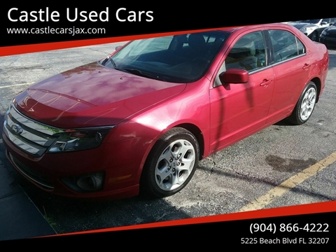 2011 Ford Fusion for sale at Castle Used Cars in Jacksonville FL