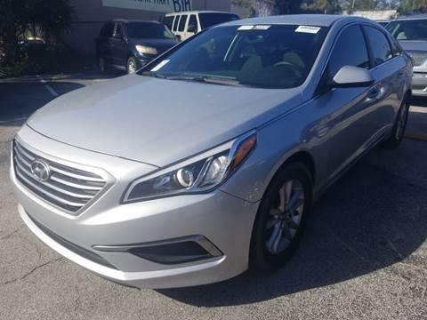 2016 Hyundai Sonata for sale at Castle Used Cars in Jacksonville FL