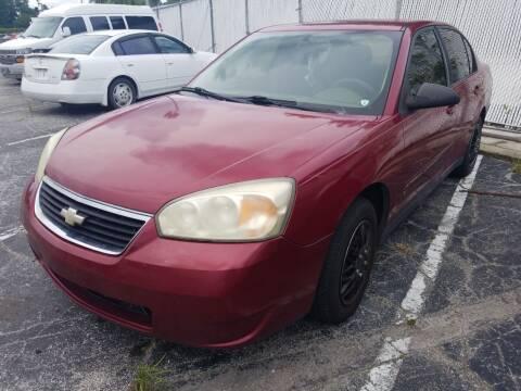 2006 Chevrolet Malibu for sale at Castle Used Cars in Jacksonville FL