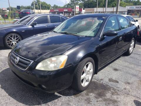2002 Nissan Altima for sale at Castle Used Cars in Jacksonville FL