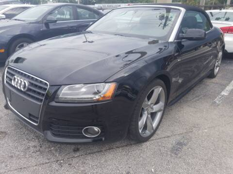 2011 Audi A5 for sale at Castle Used Cars in Jacksonville FL