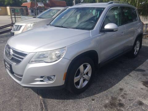 2010 Volkswagen Tiguan for sale at Castle Used Cars in Jacksonville FL