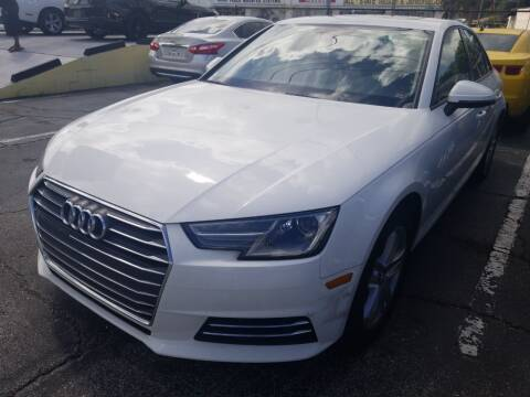 2017 Audi A4 for sale at Castle Used Cars in Jacksonville FL