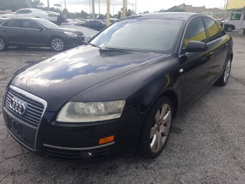2007 Audi A6 for sale at Castle Used Cars in Jacksonville FL