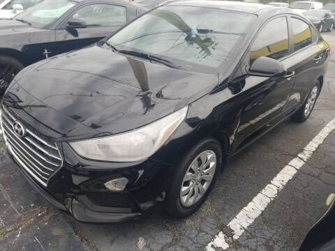 2019 Hyundai Accent for sale at Castle Used Cars in Jacksonville FL
