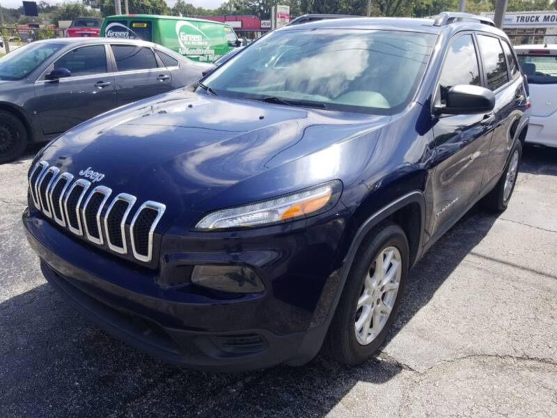 2015 Jeep Cherokee for sale at Castle Used Cars in Jacksonville FL