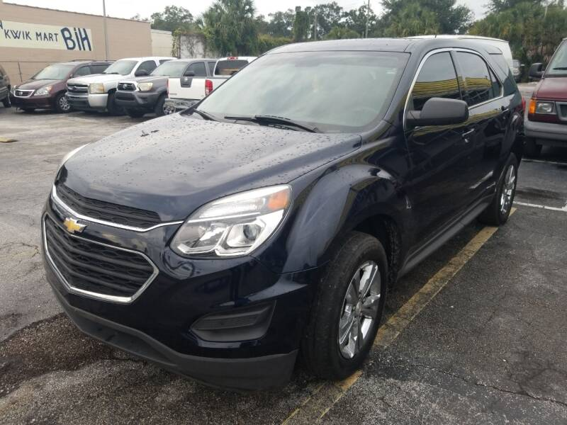 2017 Chevrolet Equinox for sale at Castle Used Cars in Jacksonville FL