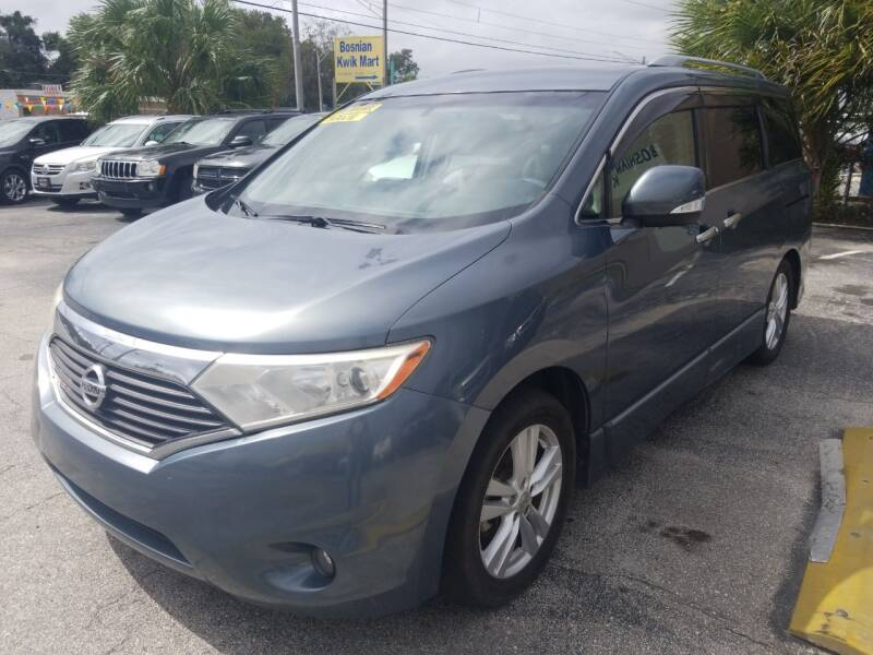 2011 Nissan Quest for sale at Castle Used Cars in Jacksonville FL