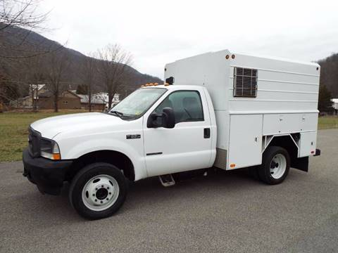 2002 Ford F-550 for sale in Harman, WV