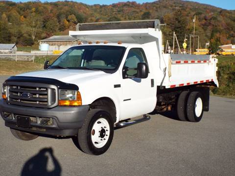 2001 Ford F-550 for sale in Harman, WV