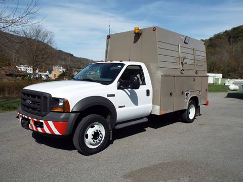 2007 Ford F-450 for sale in Harman, WV