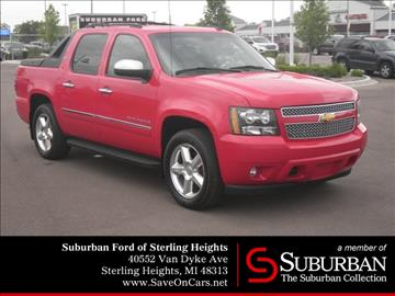 2012 Chevrolet Avalanche for sale in Sterling Heights, MI
