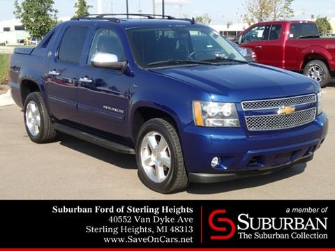 2013 Chevrolet Black Diamond Avalanche for sale in Sterling Heights, MI