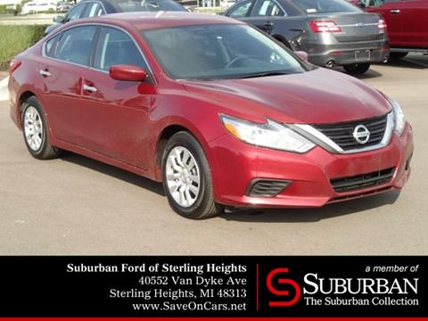 2016 Nissan Altima for sale in Sterling Heights, MI