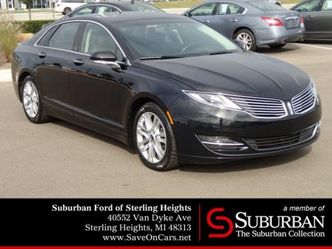 2016 Lincoln MKZ for sale in Sterling Heights, MI