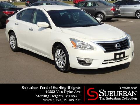 2013 Nissan Altima for sale in Sterling Heights, MI