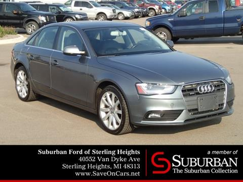 2013 Audi A4 for sale in Sterling Heights, MI