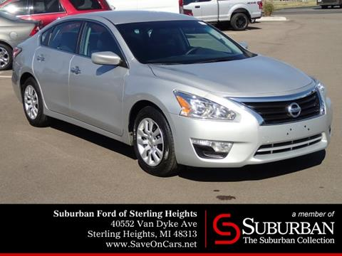 2015 Nissan Altima for sale in Sterling Heights, MI
