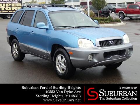 2004 Hyundai Santa Fe for sale in Sterling Heights, MI