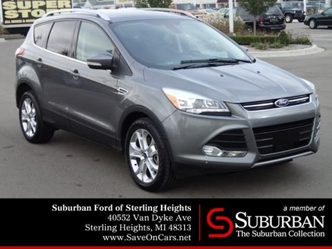 2014 Ford Escape for sale in Sterling Heights, MI