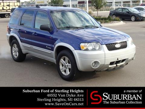 2006 Ford Escape Hybrid for sale in Sterling Heights, MI