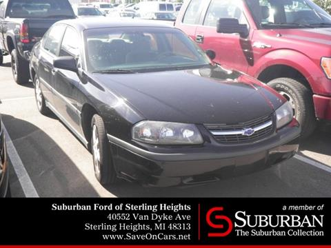 2001 Chevrolet Impala for sale in Sterling Heights, MI
