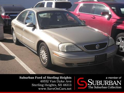 2001 Mercury Sable for sale in Sterling Heights, MI