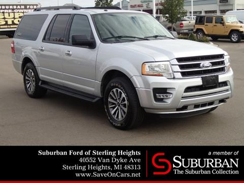 2017 Ford Expedition EL for sale in Sterling Heights, MI