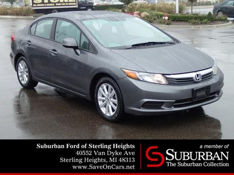 2012 Honda Civic for sale in Sterling Heights, MI
