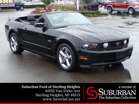 2011 Ford Mustang for sale in Sterling Heights, MI