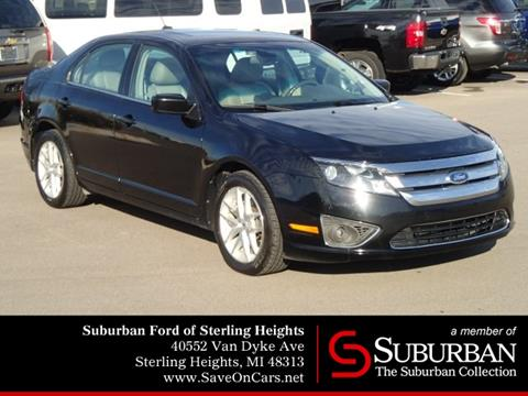 2012 Ford Fusion for sale in Sterling Heights, MI