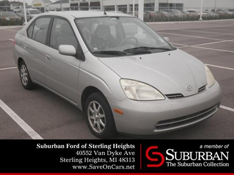 2002 Toyota Prius for sale in Sterling Heights, MI