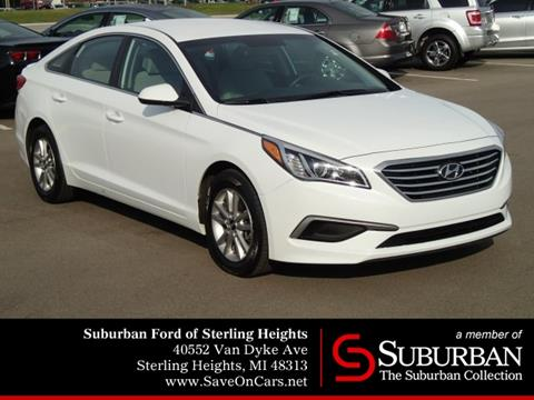 2016 Hyundai Sonata for sale in Sterling Heights, MI