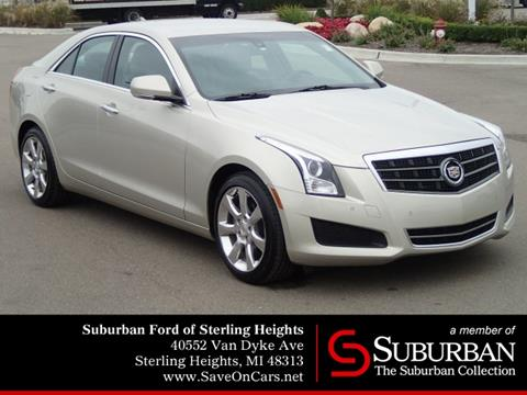 2013 Cadillac ATS for sale in Sterling Heights, MI
