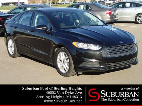 2014 Ford Fusion for sale in Sterling Heights, MI