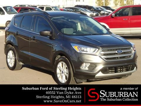 2017 Ford Escape for sale in Sterling Heights, MI