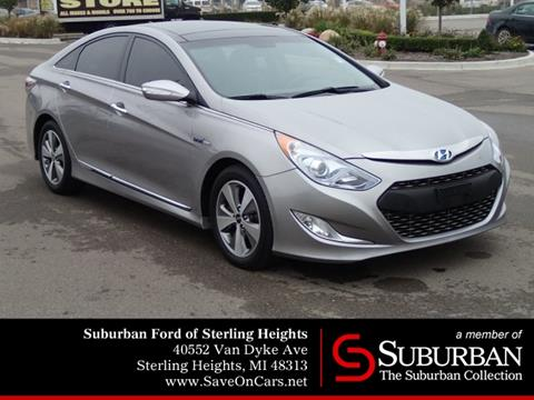 2012 Hyundai Sonata Hybrid for sale in Sterling Heights, MI