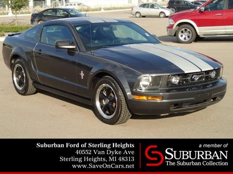 2007 Ford Mustang for sale in Sterling Heights, MI