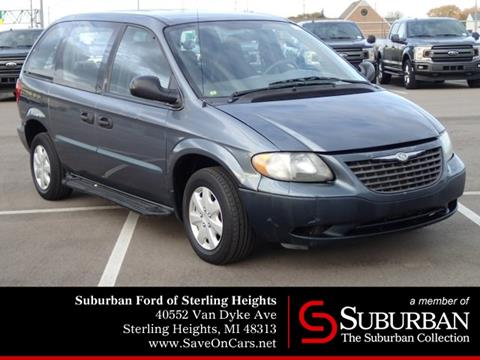 2002 Chrysler Voyager for sale in Sterling Heights, MI