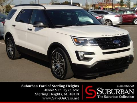 2016 Ford Explorer for sale in Sterling Heights, MI