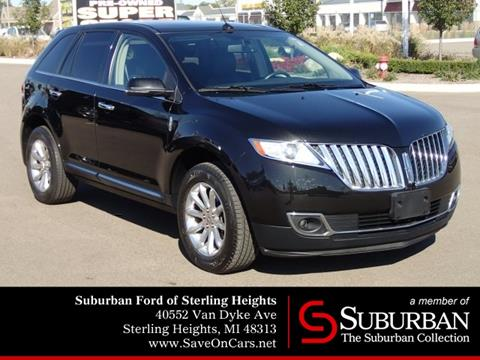 2014 Lincoln MKX for sale in Sterling Heights, MI