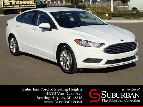 2017 Ford Fusion for sale in Sterling Heights, MI