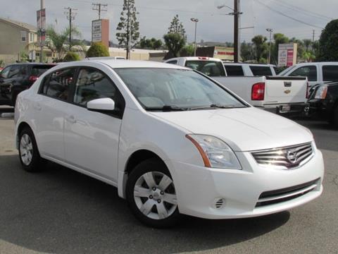 2012 Nissan Sentra for sale in La Habra CA